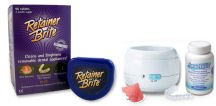 Retainer Brite and SonicBrite are both excellent products for cleaning your retainer.