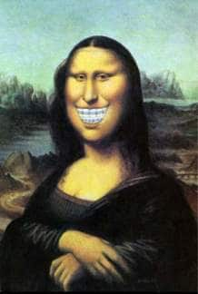 Braces Mona Lisa Original