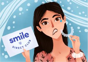 Smile Direct Club Sad